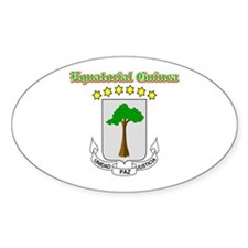 Equatorial Guinea designs Decal