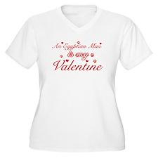 An Egyptian Mau is my Valentine T-Shirt