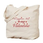 An Egyptian Mau is my Valentine Tote Bag
