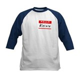 Kelsie, Name Tag Sticker Tee