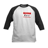Kelsi, Name Tag Sticker Tee