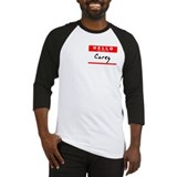 Corey, Name Tag Sticker Baseball Jersey