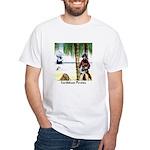 Caribbean Pirates White T-Shirt