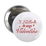 "A Laperm is my valentine 2.25"" Button"