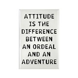 Attitude Difference Rectangle Magnet