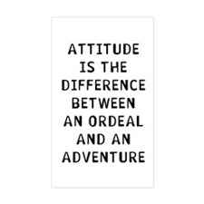 Attitude Difference Decal