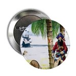 Caribbean Pirates Button
