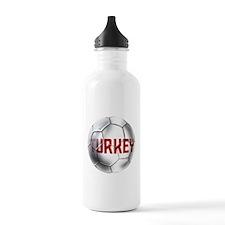 Turkey Soccer Ball Water Bottle