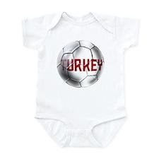 Turkey Soccer Ball Infant Bodysuit
