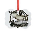 Fishing legend Picture Ornament