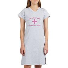 Feel safe at night, sleep with a nurse. Women's Ni