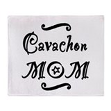 Cavachon MOM Throw Blanket