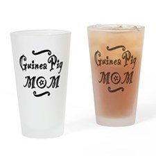 Guinea Pig MOM Drinking Glass