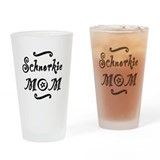 Schnorkie MOM Drinking Glass
