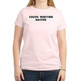 South Whittier Native Women's Pink T-Shirt