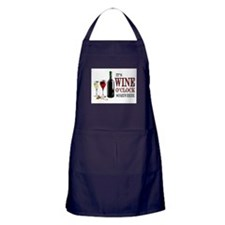 WINE OCLOCK Apron (dark)