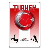 Turkey soccer poster TV Banner