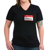 Karina, Name Tag Sticker Shirt