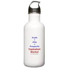 Capitalism Works! Water Bottle