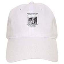 Ben Franklin Money Quote Baseball Cap