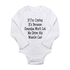Cute Chevy Long Sleeve Infant Bodysuit