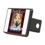 Chain Off 2012 Logo Rectangular Hitch Cover