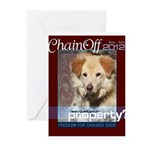 Chain Off 2012 Logo Greeting Cards (Pk of 10)