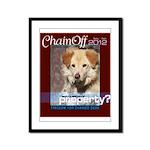 Chain Off 2012 Logo Framed Panel Print