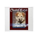 Chain Off 2012 Logo Throw Blanket