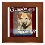 Chain Off 2012 Logo Framed Tile