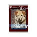 Chain Off 2012 Logo Rectangle Magnet (100 pack)