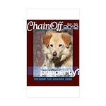 Chain Off 2012 Logo Sticker (Rectangle 10 pk)