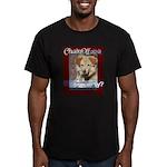 Chain Off 2012 Logo Men's Fitted T-Shirt (dark)
