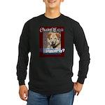 Chain Off 2012 Logo Long Sleeve Dark T-Shirt