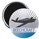 "Aircraft Beechcraft 2.25"" Magnet (100 pack)"
