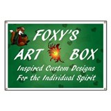 Foxy's Art Box Shop Banner