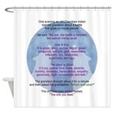 Wisdom Wolves Shower Curtain