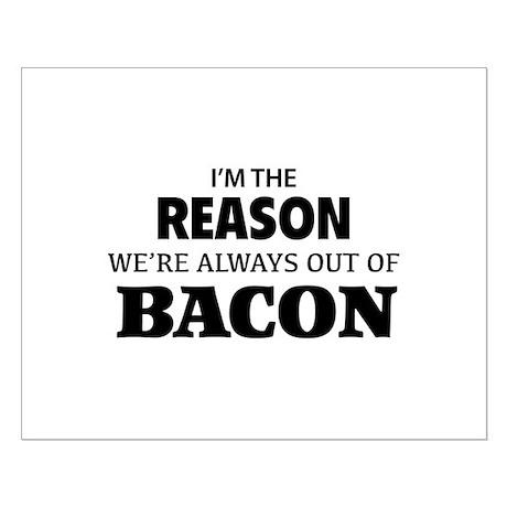 Bacon Small Poster