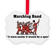 Marching Band Easier Ornament