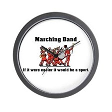 Marching Band Easier Wall Clock