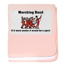 Marching Band Easier baby blanket