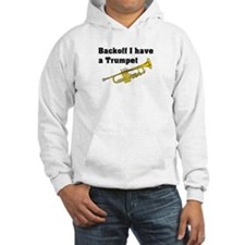 Trumpet. Hooded Sweatshirt