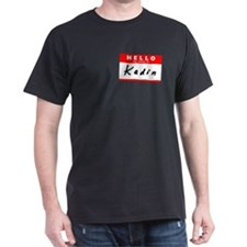 Kadin, Name Tag Sticker T-Shirt