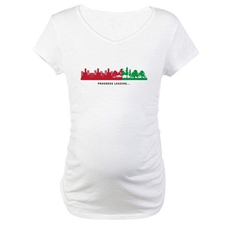 Progress Loading Maternity T-Shirt