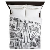 Human Anatomy Queen Duvet