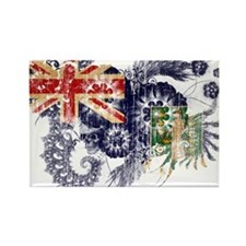 British Virgin Islands Flag Rectangle Magnet