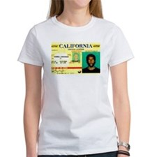 California Drivers License Tee