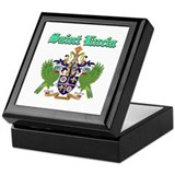 Saint Lucia designs Keepsake Box