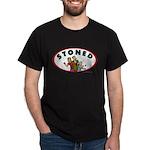 STONED Black T-Shirt