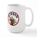 STONED Large Mug